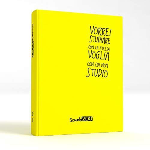 ScuolaZoo Agenda Diario Scolastico 2020-2021 con Meme divertentissimi e Tanti Adesivi, Disponibile in 6 Colori e 2 Dimensioni (Giallo, Giant)
