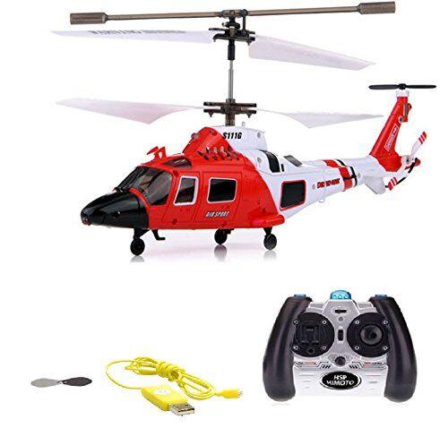 hsp himoto elicottero radiocomandato rc, 3,5canali, 2,4ghz e tecnologia giroscopica, modello ad eliche, pronto per volare, con crash kit