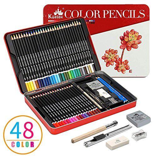 kasimir matite colorate set kasimir 48 colori matita set matite disegno per bambini studente artisti principianti e personale di professionali