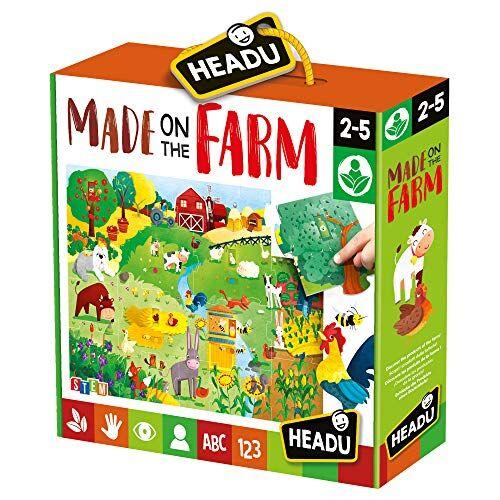 Headu- Giocattolo educativo per Bambini, Multicolore (22359)