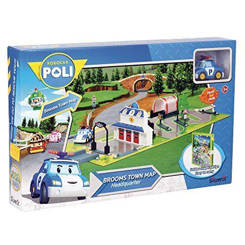 rocco robocar poli accesso telecomandato, 8027679063237