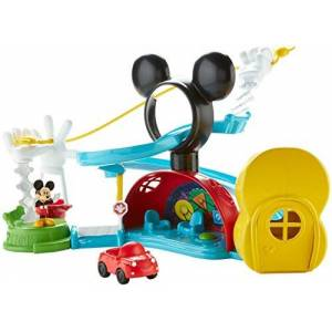 Fisher Price Mickey Mouse Clubhouse - Zip, Slide And Zoom Clubhouse