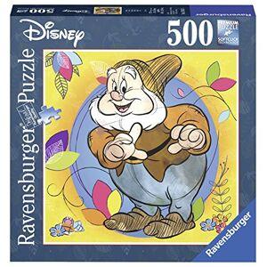Ravensburger Italy- Disney Classic Biancaneve e i 7 Nani-Gongolo Puzzle Formato Quadrato, 500 Pezzi, Multicolore, 15242