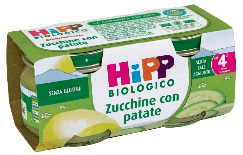 HIPP ITALIA SRL HIPP BIO OMO ZUCCHINE CON PATATE 2X80G