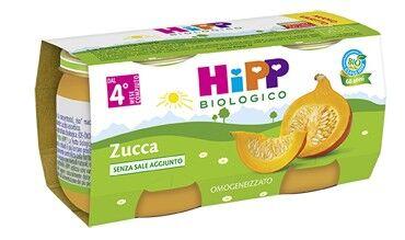 HIPP ITALIA SRL HIPP BIO OMO ZUCCA 2X80G