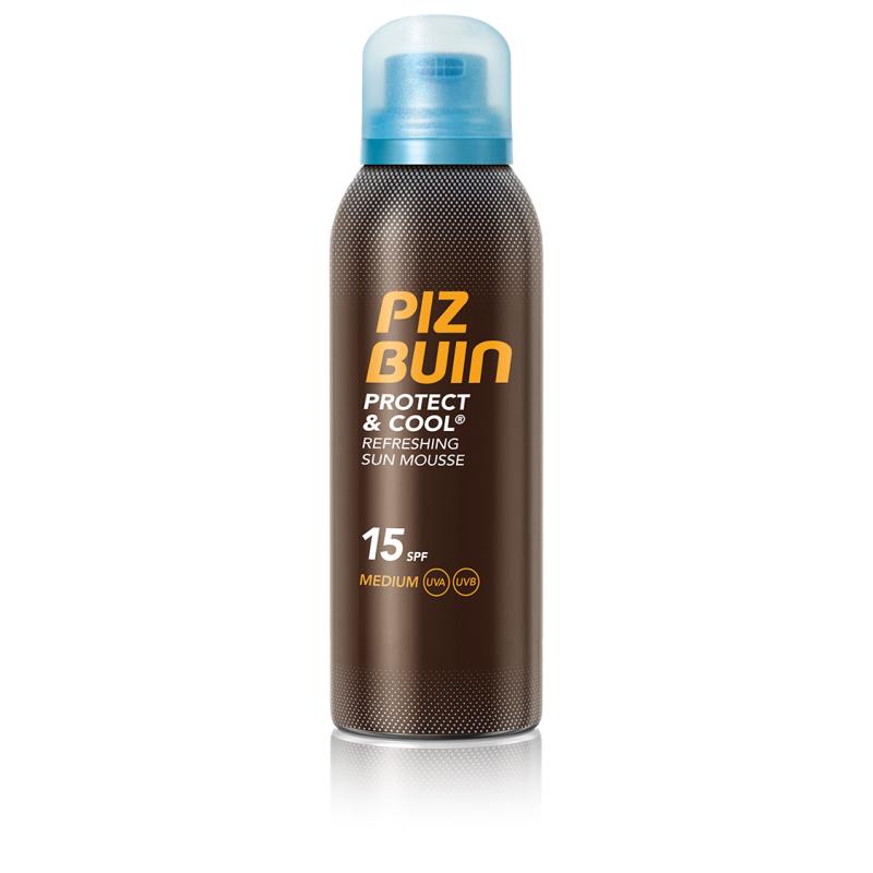 Johnson & Johnson PIZ BUIN PROTECT COOL SUN MOUSS SPF15