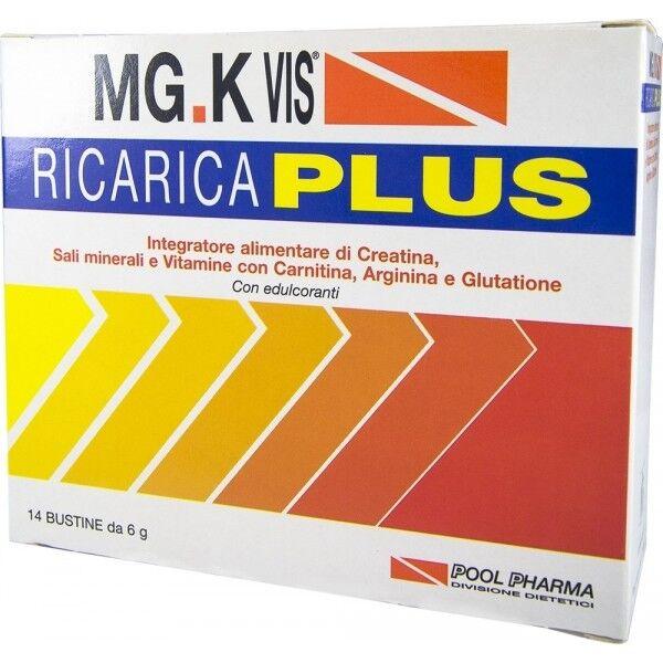 pool pharma srl mgk vis ricarica plus 14bs 6g