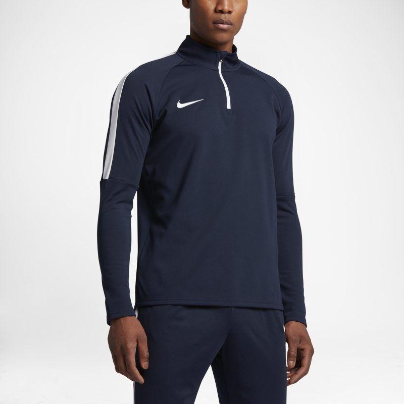 Nike Maglia da calcio per allenamento con zip a 1/4 Dri-FIT Academy - Uomo - Blu