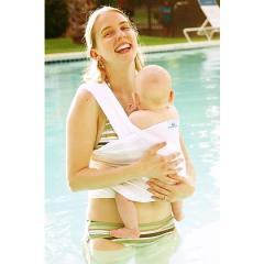 Beachfront Baby Wrap Fascia Porta Bebè (bianco)