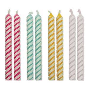 PME CA030 Candeline per Torte, Cera, Multicolore, 4.8 cm