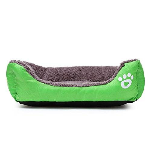 eglemtek cuccia divano letto lettino cuscino per cani cane pet animali (verde l)