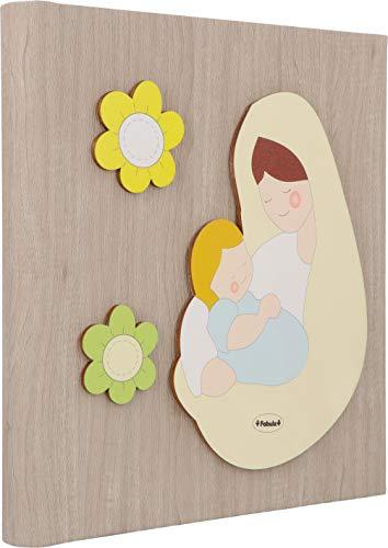 fabula diario dei ricordi 'madonnina manto avorio', legno, multicolore, 19x24