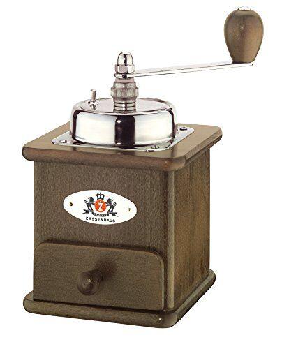 Zassenhaus Kaffeemhle Brasilia geb. Buche geb, 12x12,5x20cm