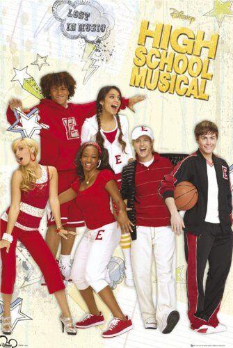 1art1 Empire 77196 High School Musical 2 Lost in Music - TV Film Poster - 61 x 91,5 cm