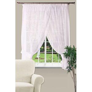 Splendid GF-irinat 300/160Bi Curtain, 100% PES, Bianco, 300x 160x 4cm