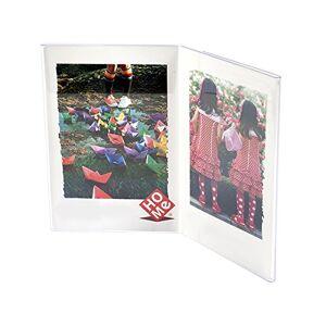 Home Portafoto Verticale, 2 Posti, 13x18 cm, Acrilico, 18x25x15 cm