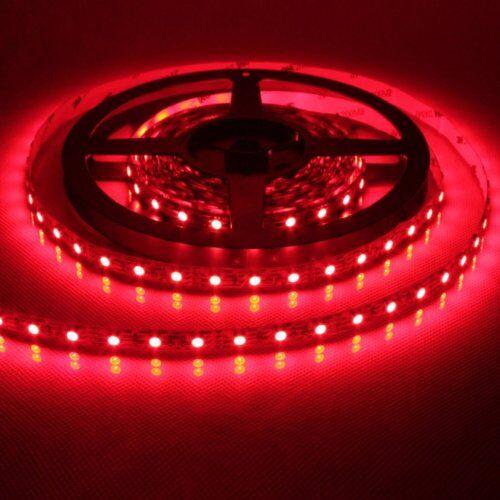 Techlight Technaxx txx3414LED Strip, Striscia, Band con 150LED rosso 5meter dimmerabile include pellicola adesiva sul retro