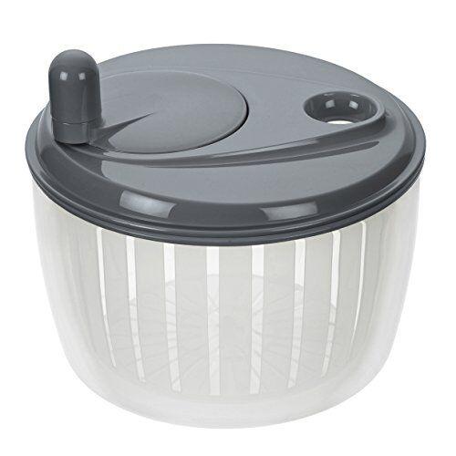 lurch centrifuga per insalata con manovella in grigio