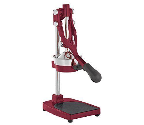 Cilio LIVORNO 203295 - Spremiagrumi professionale in zinco pressofuso, colore: Rosso