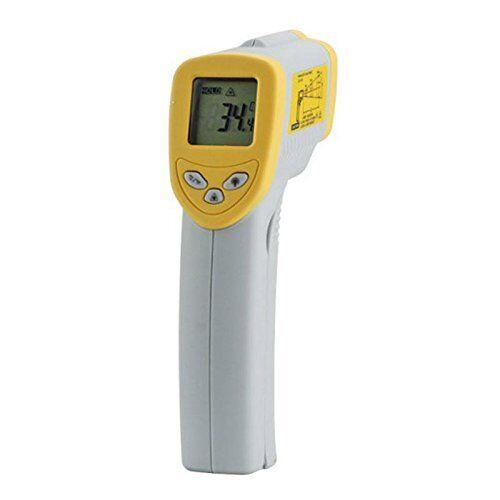 Decora 0141404 Termometro ad Infrarossi -50+500°, Plastica, Grigio