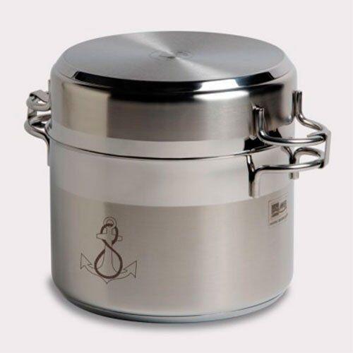 marine business 20001batteria di cucina auto-contenedora, acciaio inox, argento, 34x 24x 24cm, 11pezzi