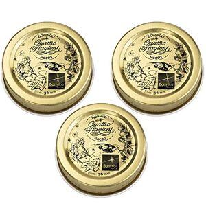 Bormioli Rocco Quattro Stagioni, Oro, Confezione da 3 Pezzi