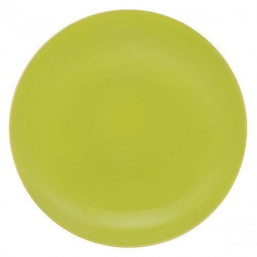 guy degrenne modulo - servizio da 6 piatti, in porcellana, colore: arancione, porcellana, verde, 20,5 x 21,3 x 1,5 cm
