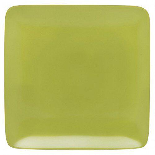 guy degrenne modulo - set di piatti (6 unit), porcellana, porcellana verde 25 x 26,4 x 1,35 cm