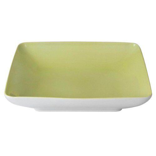 guy degrenne modulo - piatto fondo quadrato, colore: verde anice