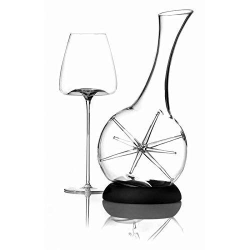 zieher decanter per vino star con base