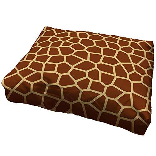 zanvic - cuccia per cani, motivo: giraffa, 60 x 90 cm, motivo: animali