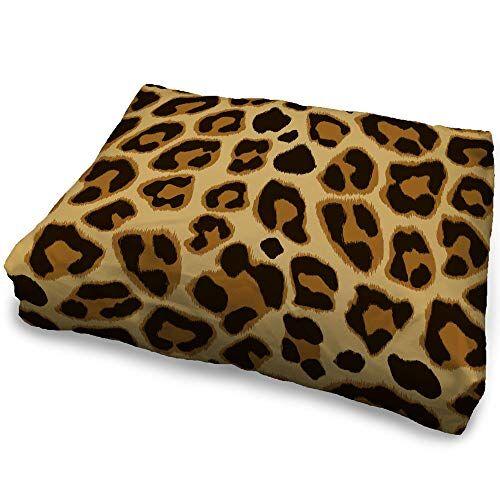 zanvic - cuccia per cani leopardata, 35 x 45 cm, motivo: animali