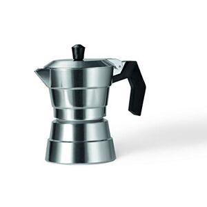 Moneta Buongiorno Caffettiera, 1 Tazza, Alluminio