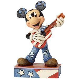 Disney Traditions 6000968 Rock & Roll-Mickey Mouse Figurina, Resina, Multicolore, 90x140x170 cm