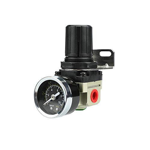 zhong an regolatore di pressione con riduttore di pressione di alta qualità per compressore di utensili ad aria compressa, 1/4 di pollice