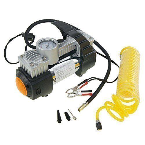 merry tools 451717 compressore ad aria con doppio pistone,ampio volume,per pneumatici auto,12v 30a