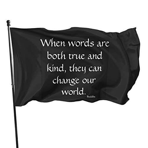 Generic Brands Marche generiche quando le parole sono entrambe vere e gentili. bandiere bandiere 3 x 5 m