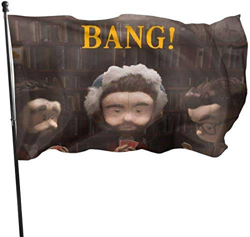 dfgjfgjdfj Bandiere AJR Band Flag 3x5 FT Garden Yard House Flags Season Greeting Banner Indoor Outdoor Party Home Decorations