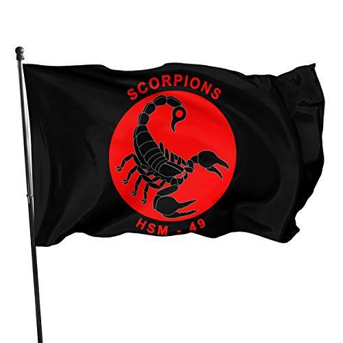 NOT BRAND ChenMingGao Home Decoration Scorpions Band Garden Flag Indoor Outdoor Flag 3x5 FT