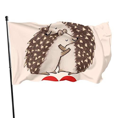 WLQP Giardino e Giardinaggio Decorazioni per Il Giardino Bandiere Welcome Personalize And Decorate The Garden Flag 3x5 Foot