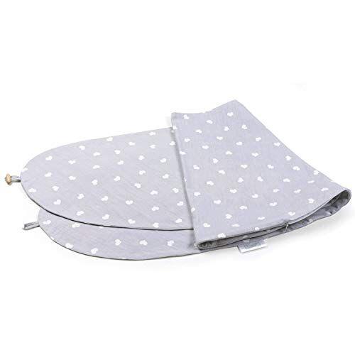 bamibi - federa per cuscino per gravidanza e allattamento, multifunzionale, 100% cotone, rimovibile e lavabile