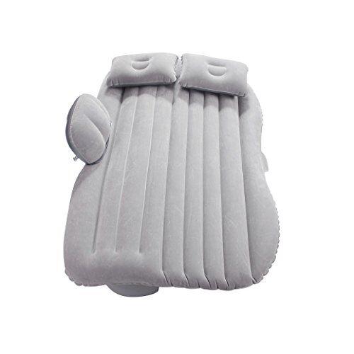 vinteky materasso letto gonfiabile airbed per auto sedile posteriore macchina con pompa (grigio)