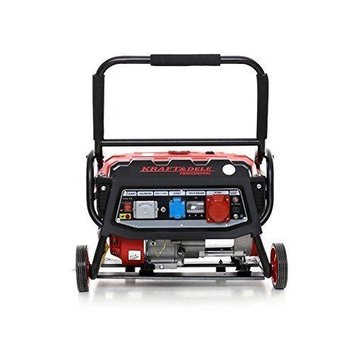 kraft&dele generatore di corrente trifase e monofase kraft&dele 2800watt reali a benzina 3 kw 7 hp avviamento manuale 3000 w 12/230 / 380 v