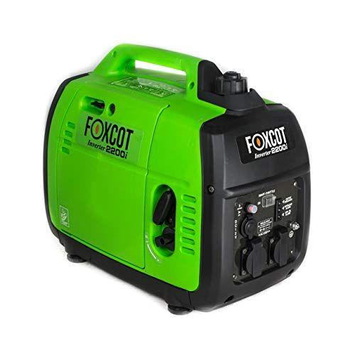 foxcot professional generatore di corrente inverter 2,2 kw foxcot gt-2200i silenziato