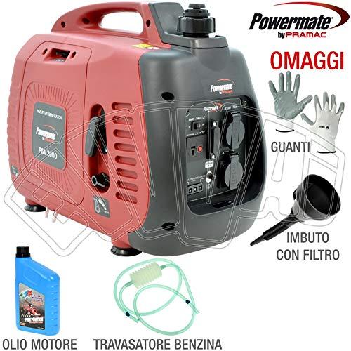 pramac generatore di corrente inverter 2,0 kw pramac pmi2000 - silenziato