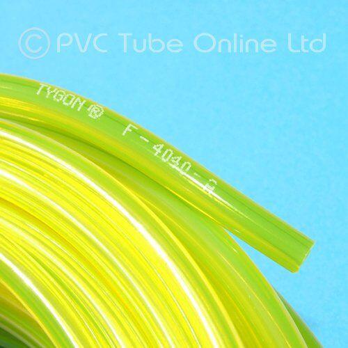tygon fuel line - tubo per benzina, 0,9 m, diametro interno 4,8 mm diametro esterno: 8,0 mm. genuine f4040a 1st class uk consegna