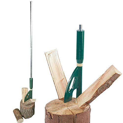 brixo spaccalegna metallo legna segatronchi sega tronchi manuale ceppi taglia legno