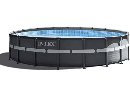 Intex Piscina Ultra XTR Frame Rettangolare Ø 5,49 h. 1,32 m con Filtro a Sabbia
