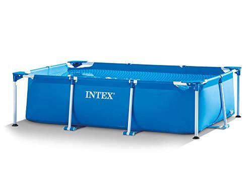 Intex 3in1Set Giardino Piscina 260x 160x 65cm Piscina rettangolare frame con filtro pompa Intex 28271