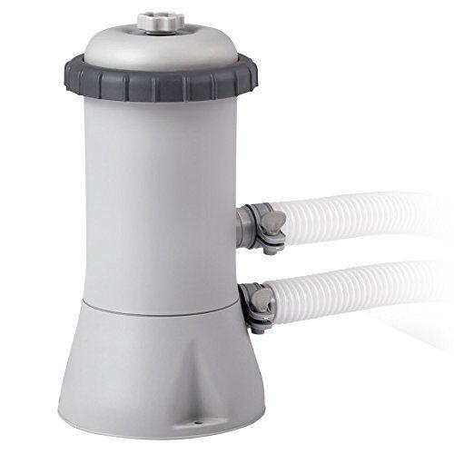Intex Pompa Filtro per Piscina Easy-Frame, Grigio, 1.7 m3\ora